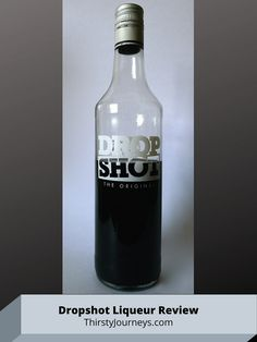 Dropshot is a licorice liqueur made in the Netherlands. It's well worth trying if you love black licorice, especially dropjes, the extra-salty type. Drinking Around The World, Black Licorice, Black Liquid, Liquor Store, Vodka Bottle, Netherlands, Countries, Herbalism, The Nederlands