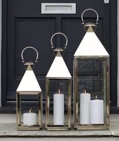 Bon Are You Interested In Our Stainless Steel Candle Lantern? With Our  Decorative Silver Lantern Large Christmas You Need Look No Further.
