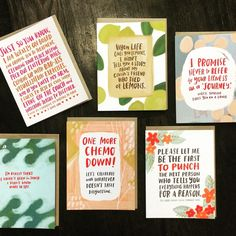 Just in... @emilymcdowell_ 's amazing new #empathycards ... When you don't know what to say ... Let Emily say it for you! We've been proud to carry Emily's cards for over 2 years now and are super excited about the love she's gotten for this new line! #Shoppicks #NewatShop #write_on #letterrevolution