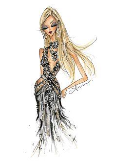 quenalbertini: Poppy Delevingne in Marchesa, Met Gala 2016 by Anum Tariq Fashion Mark, Love Fashion, Girl Fashion, Fashion Design, Fashion Illustration Dresses, Fashion Sketches, Fashion Illustrations, Couture Fashion, Fashion Dolls