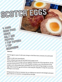Slimming world syn free scotch eggs Slimming world syn free scotch eggs astuce recette minceur girl world world recipes world snacks Slimming World Treats, Slimming World Tips, Slimming World Recipes Syn Free, Slimming Eats, Syn Free Snacks, Syn Free Food, Super Healthy Recipes, Healthy Foods To Eat, Healthy Eating