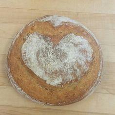Valentine pain au levain