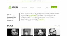 http://industryconf.com/ 24 Awesome Web Design Conferences You Should Know