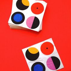 #IKEA #graphic #mod napkins photo by happymundane on Instagram