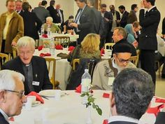 Daesh and Al Qaeda Puppet Mufti Ghariyani in the UK presiding at Prominent dinner. Left the Country after his radio station recruiting Daesh in UK  caused Terrorist Attack in UK. Has been back and forth to UK as UK and USA Puppet ever since courtesy of MI5. Media Mainstream Mouthpiece for Daesh and Al Qaeda Terrorists causing thousands of Civilian Casualties, Torture Victims & Terrorist Attacks hosted on USA Satellite Libya from 2011 to present day.