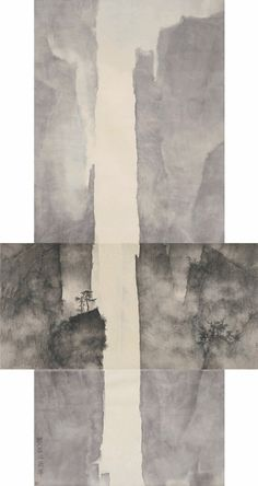 Mountain and details of the Mountain, 2010 Li  Huayi (born 1948, Chinese) 2007 NY Times article: