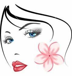 8016ea5378e5 Σκίτσα, Silhouettes, Πρόσωπα, Υφάσματα, Απεικονίσεις, Σχέδια, Κορίτσια,  Διακόσμηση,