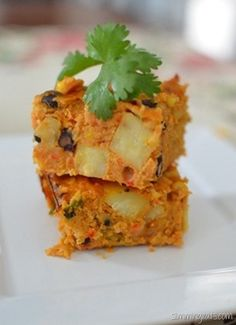 Slimming Eats Mexican Lentil Bake - Gluten Free, Dairy Free, Vegetarian, Slimming World (SP) and Weight Watchers friendly
