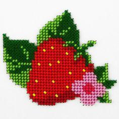 Cross Stitch Fruit, Cross Stitch Heart, Beaded Cross Stitch, Simple Cross Stitch, Cross Stitch Flowers, Cross Stitch Embroidery, Cross Stitch Patterns Free Easy, Cross Stitch Borders, Cross Stitch Designs