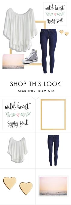 """""""Wild Wednesday🌌"""" by lylawd ❤ liked on Polyvore featuring Chicwish, Levi's, Lipsy and Converse"""