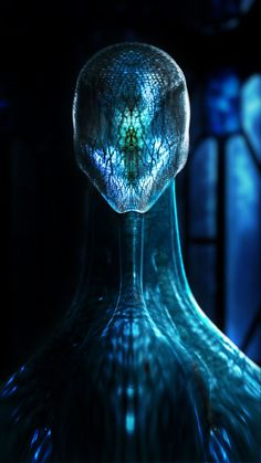 Translucent being