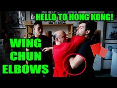 Wing Chun Elbow Techniques - Greetings to Ip Ching Family - YouTube