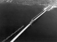 Lost through truss bridge over St. Andrews Bay on US 30 in Panama City Beach Bay County, Panama City Beach, Florida, St Andrews, Bridges, The Florida