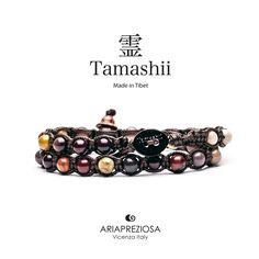 Tamashii - Bracciale Lungo Tradizionale Tibetano 2 giri Mokaite