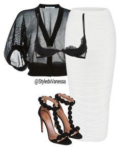 Untitled #601 by vanessa-antar on Polyvore featuring polyvore fashion style Givenchy Christies Alaïa clothing