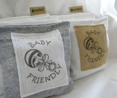 Organic Lavender Sachets for Baby Dryer Clothes Drawers Closets Camping Pillow Sheets Upcycled from tShirt Material SET of THREE