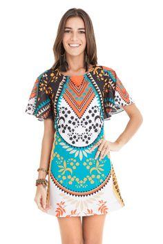 Vestido estampado dance | Dress to