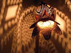 Items similar to HANDMADE Gourd lamp, Kürbislampe handcrafted floor Lamp Lampshade lighting night lamp art fairy lights father's day gift ideas interior on Etsy Mason Jar Chandelier, Diy Chandelier, Mason Jar Lighting, Gourd Lamp, Vintage Jewelry Crafts, Cool Lamps, Wooden Lamp, Night Lamps, Fairy Lights