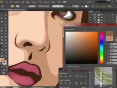 How to create a low poly vector graphic in illustrator - Tutorial 10 - YouTube