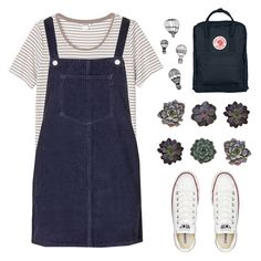 (213) by bastille-anna on Polyvore featuring mode, Topshop, Monki, Converse, Fjällräven and INDIE HAIR