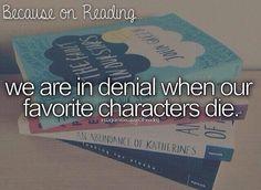 *nobody died in An Abundance of Katherines*