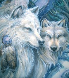 Secrets of Wolves, Why Our Souls Love Them and…How to Paint them.