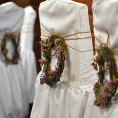 Лесная свадьба со мхом