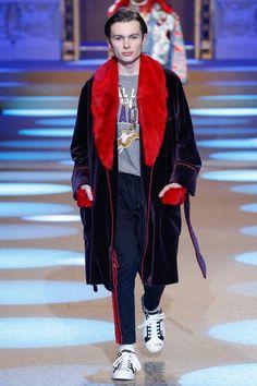 Jack Marsden au défilé Dolce & Gabbana