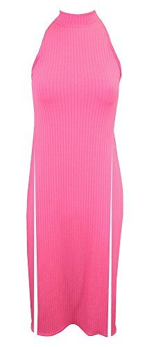 Home of Fashion Pink Turtle Neck Ribbed High Side Split Maxi Dress (8) The Home of Fashion http://www.amazon.co.uk/dp/B00YUOXF36/ref=cm_sw_r_pi_dp_qfcEvb1DS97M6