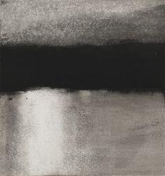 Ellen Phelan, Low Sun From Loon Lake, Eleven Drawings, gouache on paper, 1983