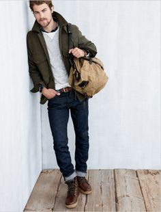 J. Crew- Winter wear - this vibe without coat or sweater