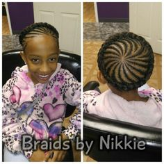 Children's braids call 5136469355 for booking and pricing