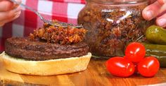 Slow Cooker Bacon Jam is a Bacon Lover's Dream Come True - The end result doesn't have any coffee flavor, but you can subsitute bourbon, beer, brewed black tea or coca-cola for the coffee.