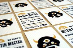 A arte do cartão de visita - Choco la Design | Choco la Design | Design é como…