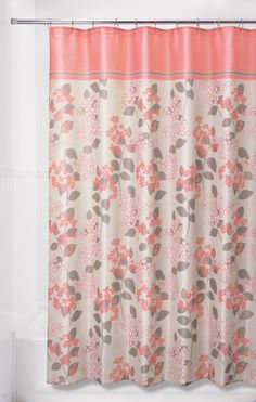 Floral SHOWER CURTAIN Flowers Custom MONOGRAM Personalized Bathroom Decor Bath Beach Towel Plush Mat Made In Usa