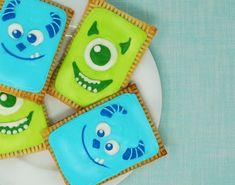 Celebrate Friendship With Mike & Sulley Pop Tarts