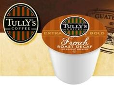 Tullys French Roast Grand Dark DECAF Coffee  3 Boxes of 24 KCups  * Find out more about the great product at the image link.