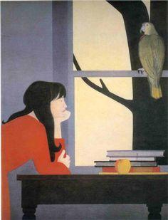 Will Barnet, Silent Seasons-Autumn, 1969.