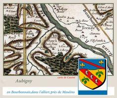 Aubigny dans l'allier.