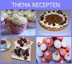 Slagroomtruffels - Recept | Bakweek.nl Mini Cupcakes, Toffee Bars, Rocky Road, High Tea, Cake Cookies, Fudge, Nutella, Frosting, Cheesecake