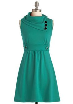 Coach Tour Dress in Spearmint, #ModCloth....on sale this week!  $24!