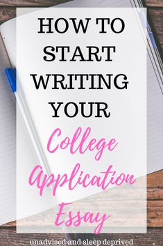 The College Application Essay is probably the most important part of the college application process. Here you will learn different college application tips, like brainstorming essay ideas, creating an outline, and writing your first draft. College Essay Tips, College Admission Essay, College Application Essay, College Checklist, Essay Writing Tips, Start Writing, College Fun, College Hacks, School Hacks