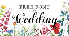招待状や席札など結婚式準備に無料DL可♪花嫁さんが使えるオシャレなフリーフォント10選