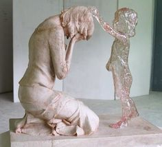 """The Child Who Was Never Born. Sculpted by Martin Hudaceka--been there. So much sadness no one understands. He/she is always """"there""""...."""