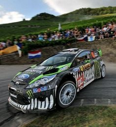 I need to step up my Fiesta game... Ford Fiesta - WRC