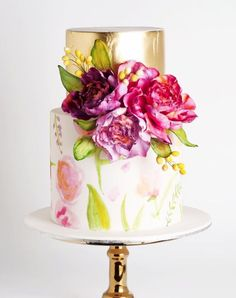 Wedding cake idea; Featured Cake: Cake Ink
