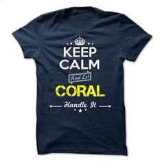 CORAL -keep calm - design your own shirt #linen shirts #hoodies for boys