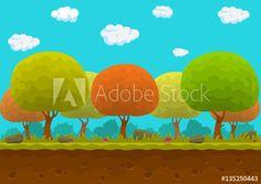 Materiał do szycia Cartoon forest. Yoshi, Cartoon, Fictional Characters, Cartoons, Fantasy Characters, Comics And Cartoons