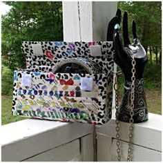 #Reclaimed Magazine and Duck Tape Purse or Custom by TUTreasures, $32.50  #ducktape #ducttape #recycled #highfashion #reclaimed #recyclable