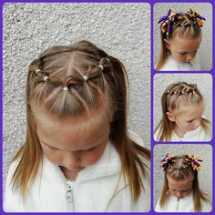 The Effective Pictures We Offer You About toddler hairstyles girl mohawk A quality picture can tell Toddler Hair Dos, Easy Toddler Hairstyles, Easy Little Girl Hairstyles, Girls Hairdos, Baby Girl Hairstyles, Braided Hairstyles, Natural Hair Styles, Long Hair Styles, Crazy Hair